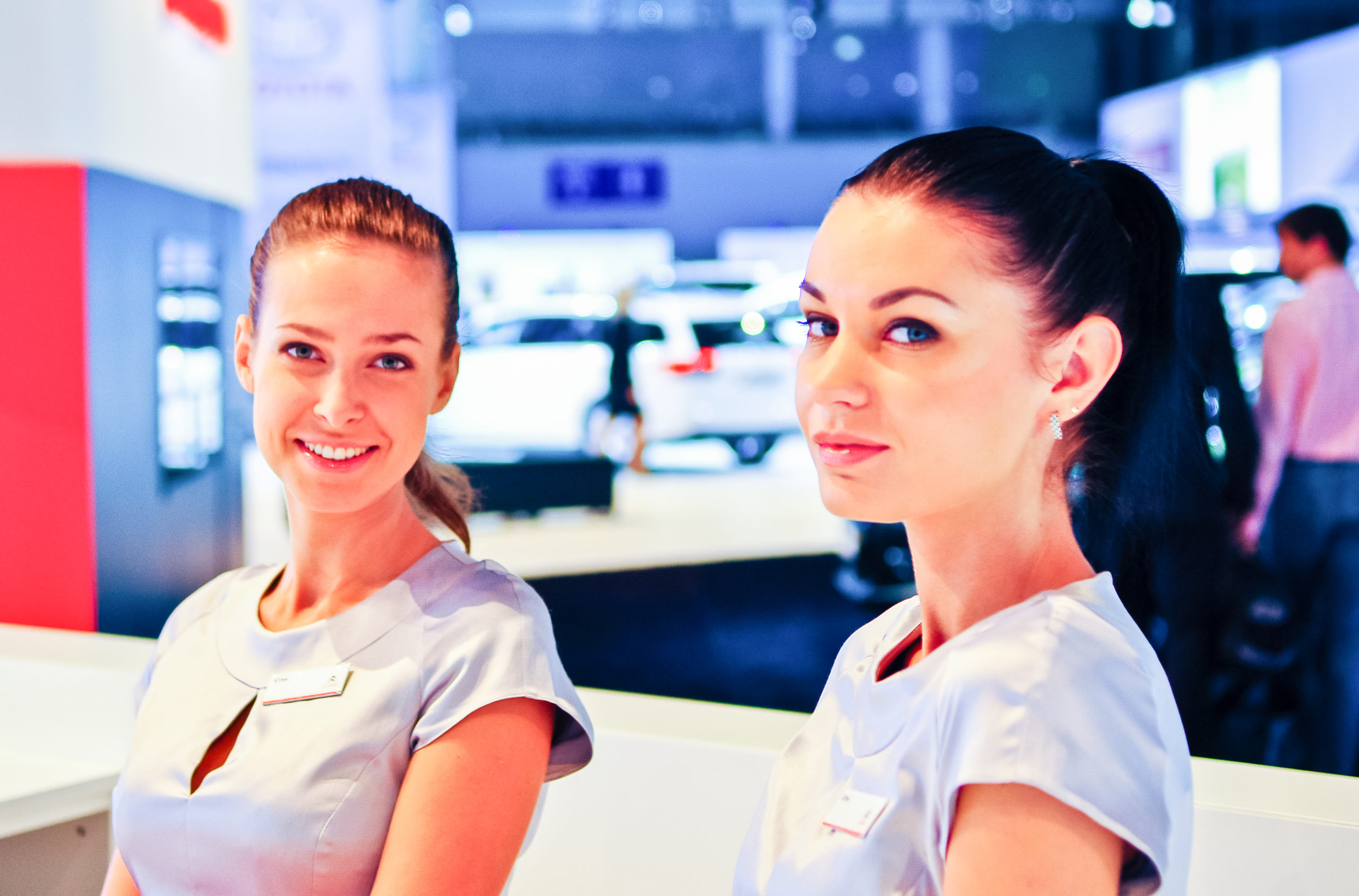 Agenzia professionale di hostess per eventi e fiere in tutta Italia