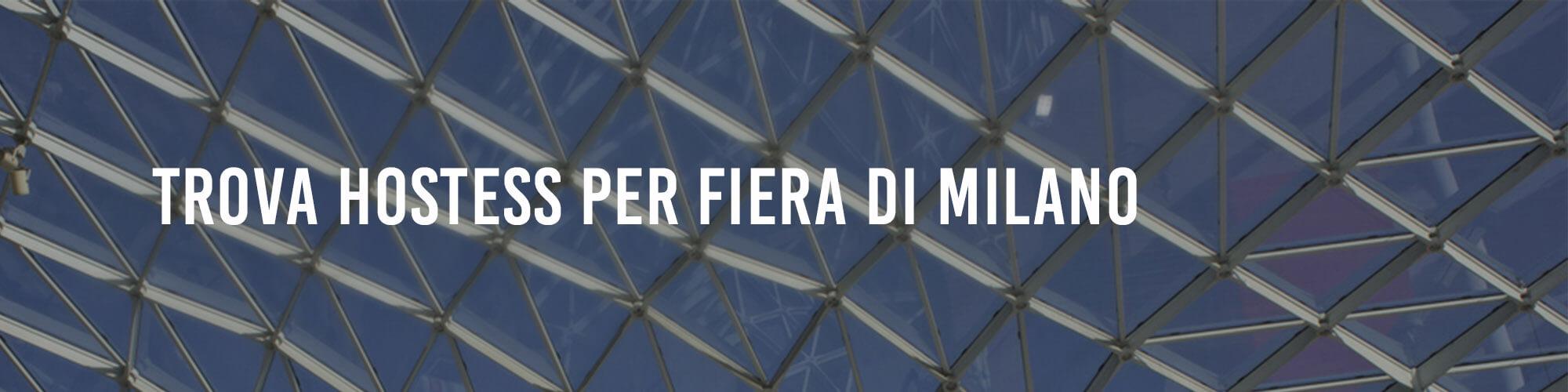 Hostess Fiera Milano
